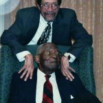 Rev. Tyson with Dr. Ballard on his 100th Bday