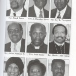 Frank Tyson and his fellow ministers